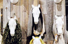 The Sugarboo & Co. Boutique Features a Horse Head Display