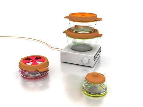 Stacking Cooking Containers - The Ignis Steam Cooker Proposes is an Efficient Food Prep Appliance