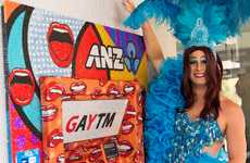 Rainbow-Refurbished Charitable ATMs - These New ATMs Called 'GAYTMs' Promote LGBTQ Support