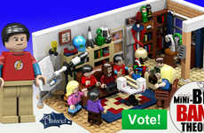 This LEGO Big Bang Theory Set Reimagines the Geeky Sitcom in Toy Bricks