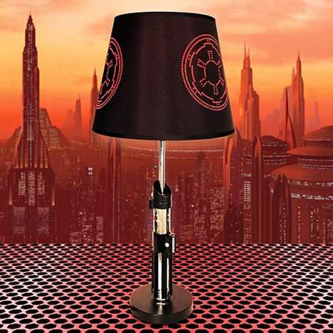 Space Opera Weapon Lamps - Find Your Way in the Dark with the Darth Vader Lightsaber Lamp