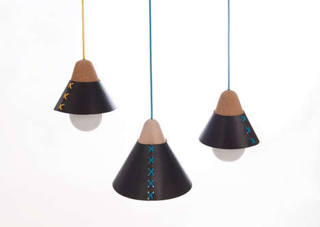 Corset-Inspired Lamps - This Stylish Lamp Uses a Variety of Materials for a Seductive Ambience
