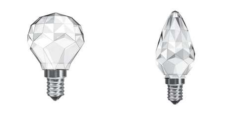 Leuci Crystal Lightbulbs
