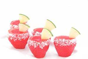 The DIY Strawberry Margarita Jello Shooters are Fun and Easy