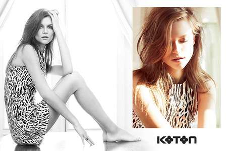 Coquettish Sunny Everyday Lookbooks - The Koton Spring 2014 Campaign Lookbook is Comfy and Chic