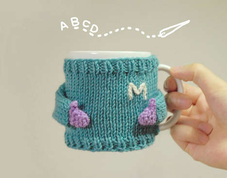 Coffee Cup Costumes - These Mug Sweaters Insulate Your Drink and Feel Soft Against Your Hands