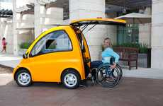 Trunk Wheelchair Accessible Cars - The Kenguru Lets Drivers to Easily Roll in Through the Rear Door