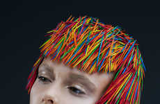 Prickly Toothpick Headdress Photography