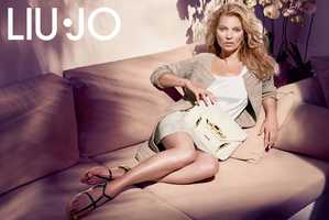 The Liu Jo Spring 2014 Campaign Stars the Stunning Kate Moss