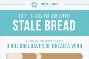 Sustainable America Shares Practical Tips for Stale Bread