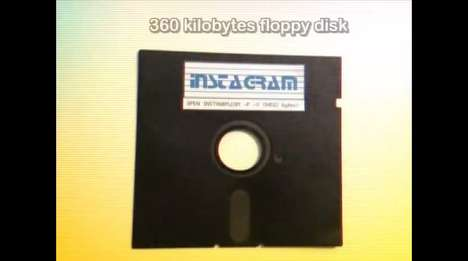 Wayback Photo App Spoofs - Squirrel Monkey Imagines a Funny Instagram App from the 80s