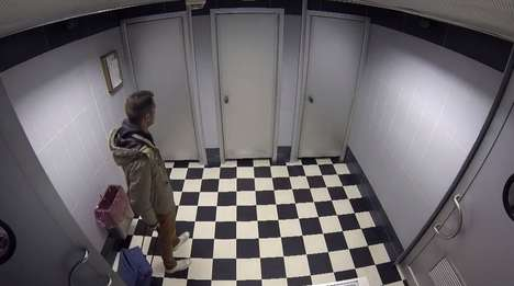 Washroom Maze Pranks - This Clever Diarrhea Medicine Ad Simulates Being Trapped in a Bathroom