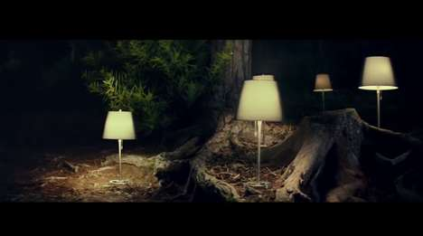 Enchanting Eco Lighting Ads - IKEA Promotes the Natural Beauty of Energy Efficient LED Lightbulbs