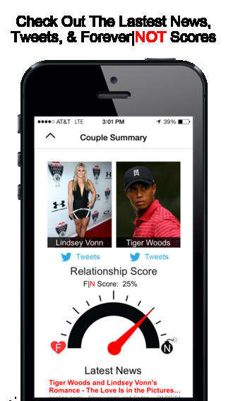 Social Relationship Gambling Apps - Place Your Celebrity Couple Bets with ForeverNOT