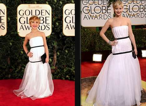 70 Ravishing Red Carpet Looks - Get Ready for the 2014 Oscar Awards with These Gorgeous Styles