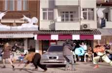 Street Brawling Insurance Ads