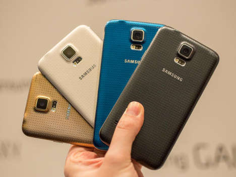 Water-Resistant Smartphones (UPDATE) - The Samsung Galaxy S5 Has Been Revealed Worldwide