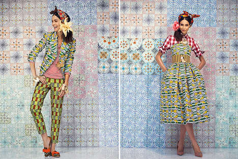 Culture-Clashing Lookbooks - The Stella Jean Spring 2014 Collection is All About Clashing Prints