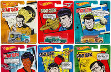 These Star Trek Hot Wheels Cars Match Each Cast Member Perfectly