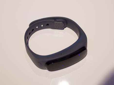 headset and fitness tracker