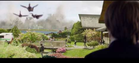Radioactive Lizard Remake Films - The New Godzilla Trailer is Tearing Up the Big Screen