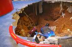 National Supercar Museums - This Corvette Museum Plans to Display Sinkhole Damaged Cars for Fans