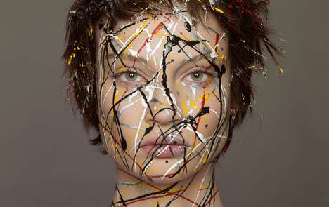 Modern Art-Inspired Editorials - Vogue Netherlands