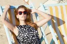 Laid-Back Beach Fashion Ads - The iBlues Spring 2014 Campaign Stars a Sunny Barbara Palvin