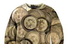 This Shiny Bitcoin Currency Sweater is From Beloved