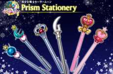 Transformative Anime Pens - Bandai's Sailor Moon Merchandise Honors the Cartoon's 20th Anniversary