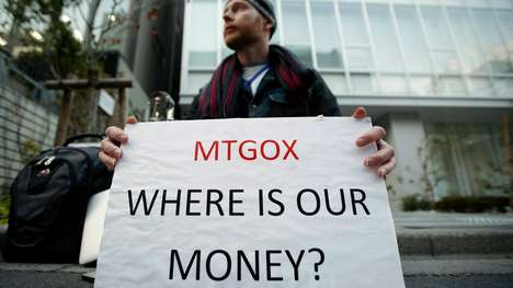 Crypto-Currency Exchange Crashes - The Massive Bitcoin Exchange Mt. Gox Has Gone Offline