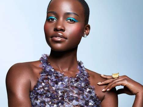 Vibrant Spring Beauty Looks - The ESSENCE Magazine March 2014 Photoshoot Stars Lupita Nyong'o