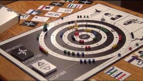 Dream Heist Board Games - Go Three Dream Levels Deep with the Inceptor Board Game