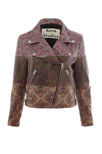Art Nouveau Fashion Fusions - Liberty x Acne 2014 Collection is an Art Nouveau Fusion
