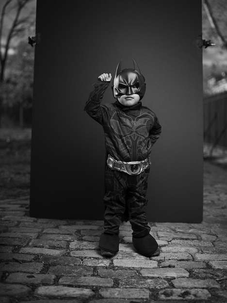 Greyscale Halloween Portraits - Photographer Joey Lawrence Captures a Somber Side of the Fun Holiday