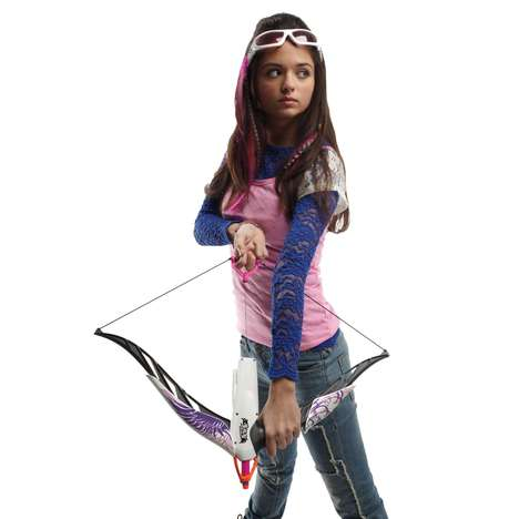 Girl-Geared Archery Sets - Nerf Rebelle Series Bring the Action to a Different Demographic