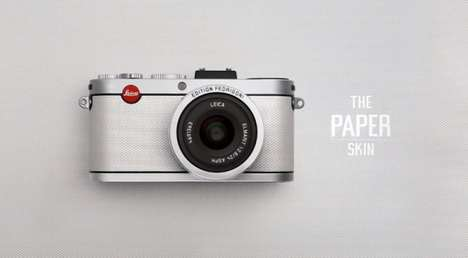 Pretty Pulp Cameras - The Paper Skin by Leica is a Pristine Limited Edition Model