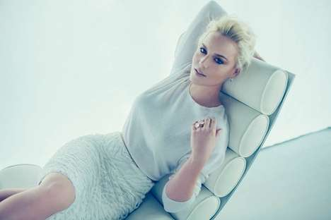 Elegantly Chilled Editorials - The Lifestyle Mirror February 2014 Photoshoot Stars Abbie Cornish