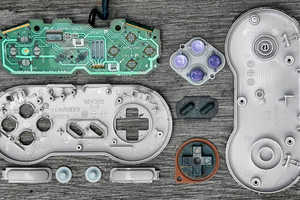 Artist Brandon Edgar Allen Disassembles Game Controllers