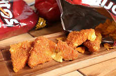 DIY Deep-Fried Cheese Recipes - These Deep Fried Cheese-Stuffed Doritos are for the Cheese Lovers