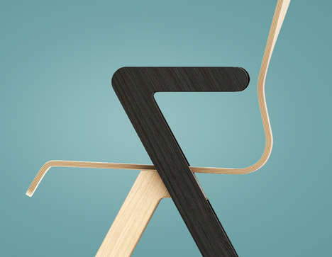 Bold Seating Armrests - The Vi Chair by Redo Design Studio is a Contemporary Stacking Option