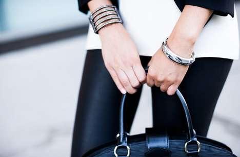 Feminine Hi-Tech Jewelry - The Memi Smart Bracelet is a Stylish Way to Stay Connected Socially