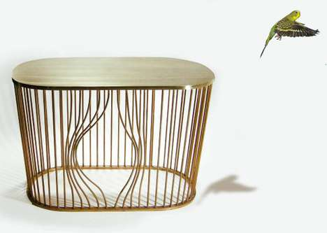 26 Bird Cage Furniture Pieces - From Whimsical Avian Lighting to Flown the Coop Furnishings
