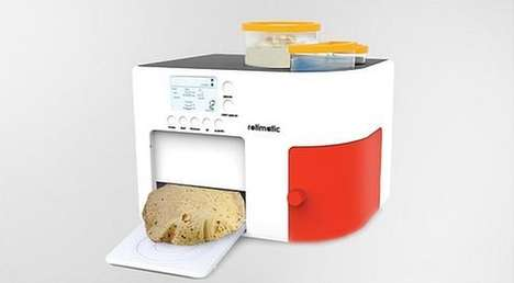 Automatic Roti Makers - The Rotimatic Will Quickly Whip Up Traditional Indian Flat Bread