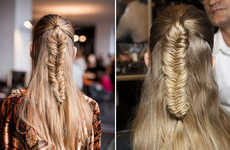 Himalayan Fishtail Braids are Creating Waves on Fashion Runways