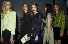 Chartreuse-Charcoal Fashion