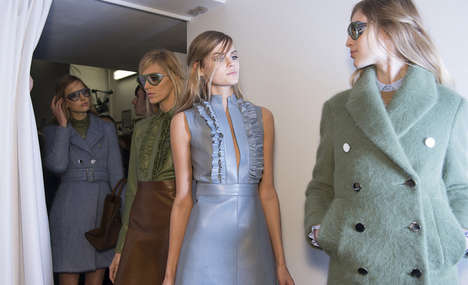 Italian Mod Fashion Collections - The Gucci Fall 2014 Collection Could be Inspired by Italian Film