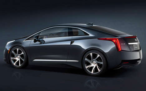 Plug-In Hybrid Luxury Coupes - This 2014 Cadillac ELR is the First Plug-In Hybrid for the Automaker