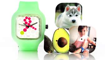 Customizable Image-Inserting Watches - The Modify Watch Lets You Tailor and Change Faces to Fit Your