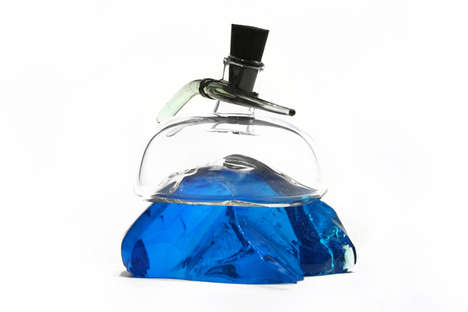 Precious Stone Perfume Bottles - These Peculiar Perfume Bottles are Inspired by Natural Elements